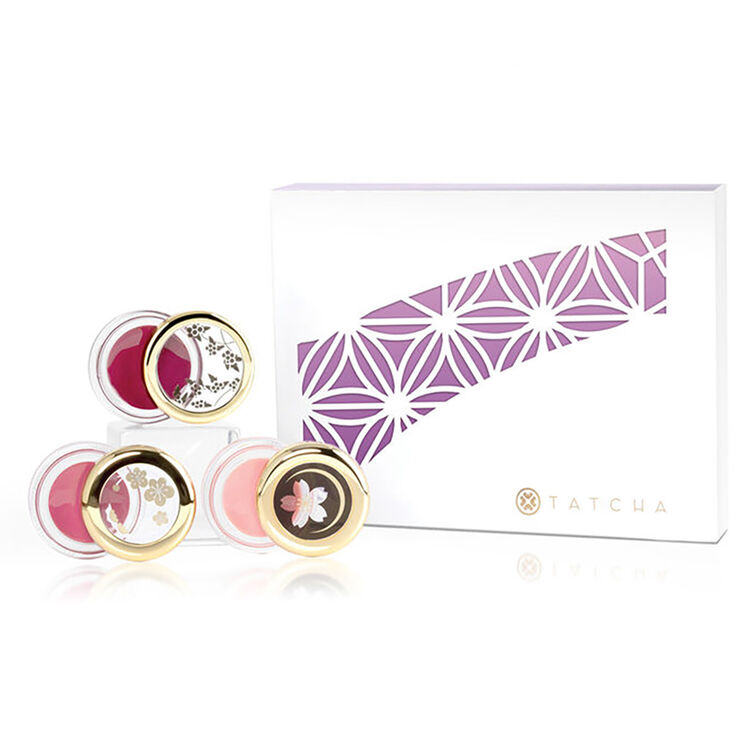 Camellia Kisses Lip Balm Trio