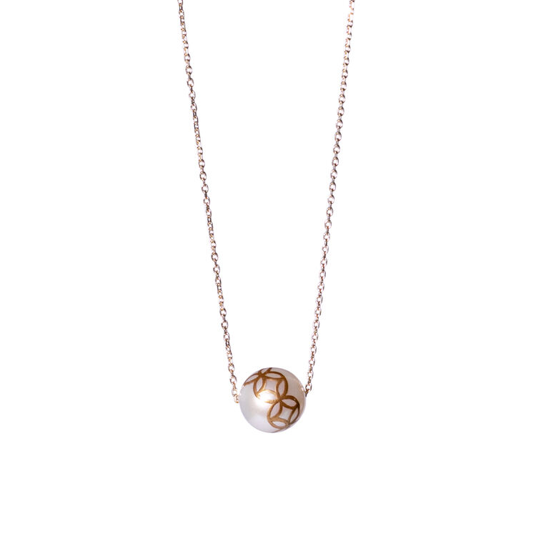 Tatcha x Karafuru Makie Pearl Necklace