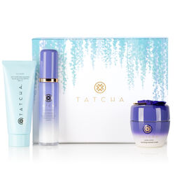 Plump + Protect Set With Ageless Enriching Renewal Crea