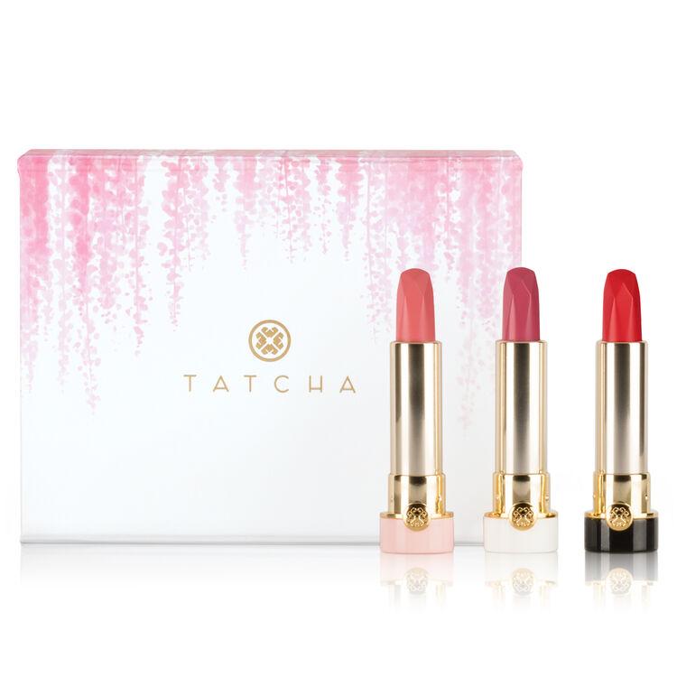 Kyoto Blooms Silk Lipstick Trio
